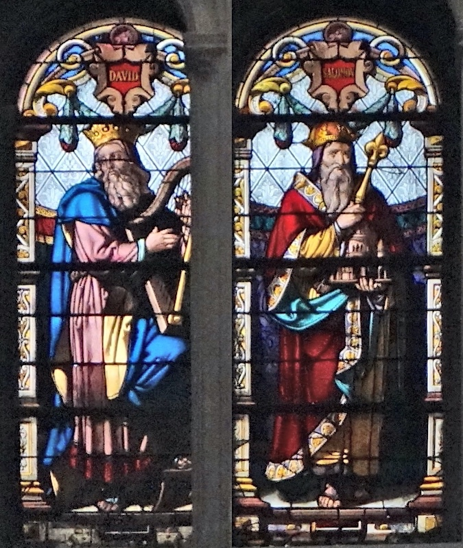 David et Salomon<br>Eglise Saint Eustache - Paris (01)