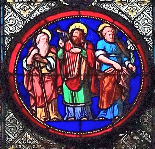 Abraham, David, Joseph<br>Basilique Ste Clotilde - Paris (07)